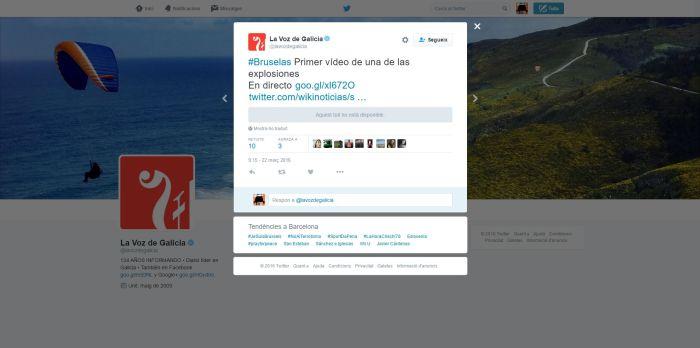 Captura tuit erroni LVDG